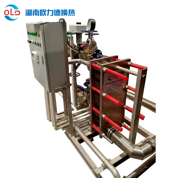 水-水卫生热水板式换热机组