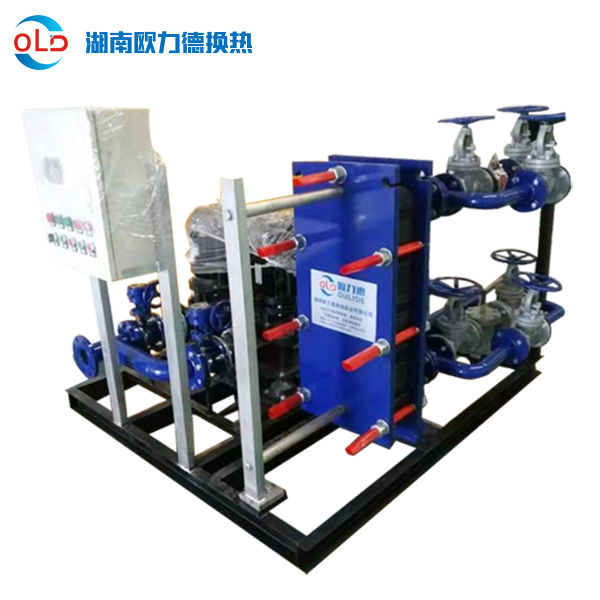 汽-水采暖板式换热机组