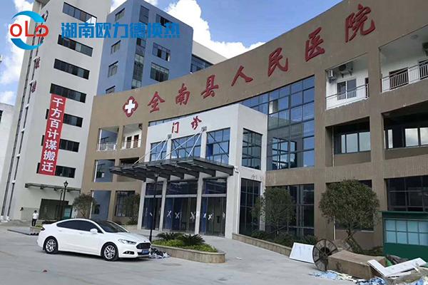 南县人民医院整体搬迁项目3套容积式换热器