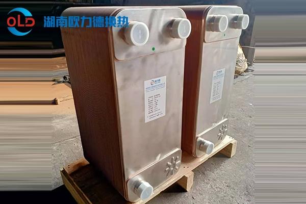 钎焊板式换热器客户案例
