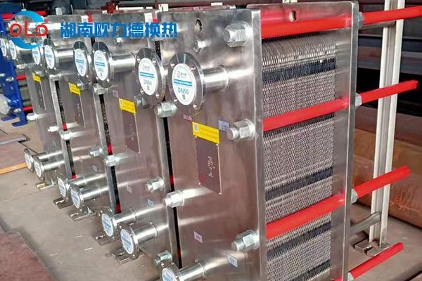 卫生级板式换热器客户案例