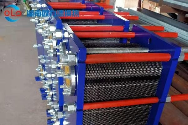 可拆式板式换热器客户案例